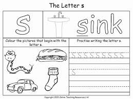 Use browser document reader options to download and/or print. Jolly Phonics Worksheets For Kindergarten Image Result For S Worksheets Education Phonics Worksheets Letter S Worksheets Preschool Letters
