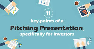 11 Key Points Of A Pitching Presentation Specifically For Investors