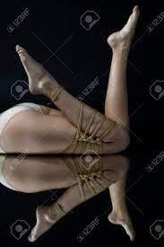 Rope Bondage Slave Girl