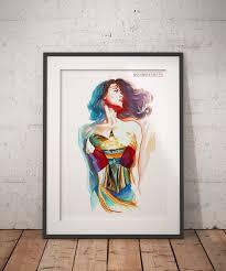 wonder woman print wall art home decor on wonder woman canvas wall art with wonder woman poster wonder women canvas print wall art home decor