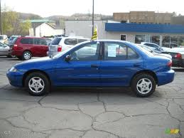 2004 Arrival Blue Metallic Chevrolet Cavalier Sedan #28092260 ...