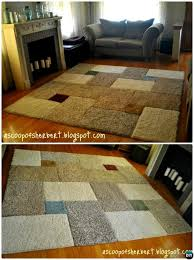 diy carpet square area rug 20 no crochet diy rug ideas instructions