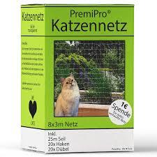 Neez Katzennetz 3x8 Meter Für Balkon Transparent Außennetz