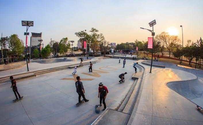 Cierran todos los parques de Skate en CDMX por ser foco de COVID