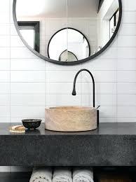 modern round bathroom mirror.  Mirror Modern Round Bathroom Mirror White Fresh Design  Inside Modern Round Bathroom Mirror