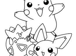 Pikachu Coloring Sheet Coloring Pages Online Rollingmotorsinfo