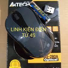 Chuột máy tính không dây A4tech G3-280A