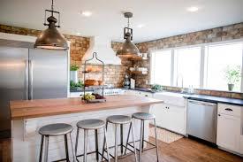Fixer Upper Light Pendants 5 Essential Elements In Every Fixer Upper Kitchen Kitchn