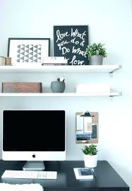 shelves for office. Desk With Shelves Computer Office Shelf Above For