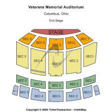 Veterans Memorial Auditorium Tickets And Veterans Memorial