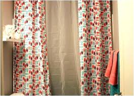 shower curtain dimensions average fresh normal size lengths standard