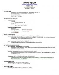 Stylish How To Make A Resume For A First Job | Resume Format Web