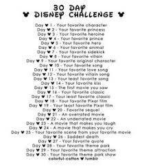 join music facts for a fun song challenge every day this month  in honor of my obsession for everything disney i m going to try the 30 day disney challenge starting