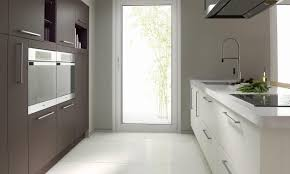 Second Nature Kitchen Doors Larges Stainless Steel Handles Suit This Inzo Kitchen From