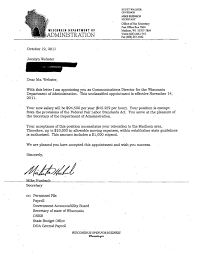 Example Of Appointment Letter Filename Invest Wight