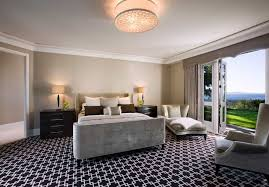 carpet for bedroom. black and white carpet pattern flooring for modern classic bedroom decoration (image 2 of 18 a