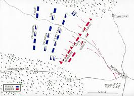 battle of agincourt battle of agincourt on 25th 1415 in the hundred years war map by john