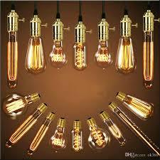 Großhandel Antike Retro Vintage 40w 220v Edison Birne E27 Glühlampen Käfig Glühfaden Glühlampe Edison Lampen Von Ok360 238 Auf Dedhgatecom