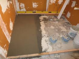 complete bathroom schluter systems s part 3 installing mud base you