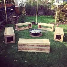 pallet furniture garden. DIY Pallet Furniture In Garden