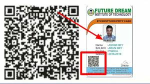 amp; Qr Card Badge Print Digital Pest In Code Bar Making Id