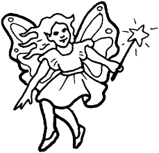 Colouring sheets are a great way to. Fairy Coloring Page For Kids Free Printable Picture