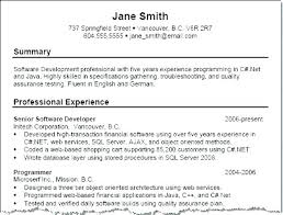 Summary For Resume Examples Custom Executive Summary Example For Resume Examples Of Summary In Resume