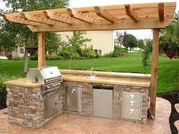 building an outdoor kitchen diy outdoor kitchen steel studs