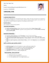 Lovely Handwritten Resume Samples For Teachers Images Example