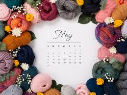 Free Downloadable May 2020 Calendar ...