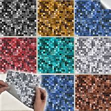 100 pack multi mosaic tile stickers 6 4 diy transfers kitchen bathroom tp3 1 of 12free