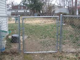 and we have a gate we still need to trim the top off of the chain link fencing but for now that s just a cosmetic consideration