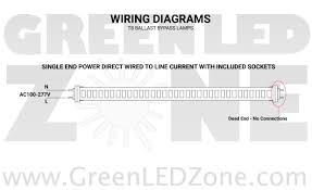 led t8 retrofit kit converts 2 8ft fluorescent tubes into 4 4ft led wiring diagram for add on t8 single end power tubes