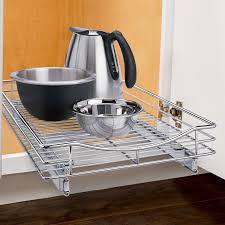 Under Cabinet Shelving Kitchen Lynk Professionalr Roll Out Cabinet Organizer Pull Out Under