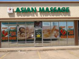 Asian message parlor in webster