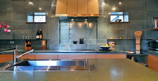 valley concrete bathroom ketchum ftc: sun valley concrete kitchen by fu tung cheng