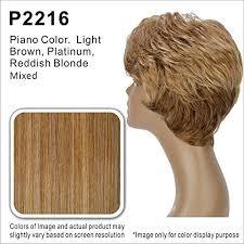 Vivica Fox Hair Color Chart Vivica A Fox Amyv Synthetic Fiber Ps Cap Wig In Color P2216