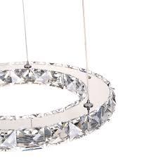 Led Kristall Kronleuchter Deckenleuchte Hängeleuchte Dimmbar Lampe