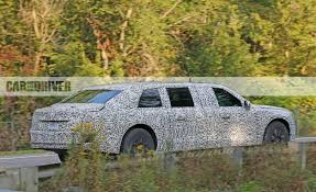 2018 cadillac limo. unique cadillac cadillac presidential limousine spy photo with 2018 cadillac limo