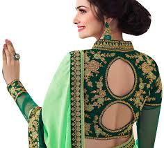 Latest Blouse Designs Photos 2019 Blouse Ki Design Dikhaye Piche Gale Ki Somurich Com Latest