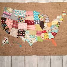 fabric scraps make something with it i made a scrap map, crafts ... & fabric scraps make something with it i made a scrap map, crafts, how to,  repurposing upcycling, reupholster, wall decor | Bedroom | Pinterest | Map  crafts, ... Adamdwight.com