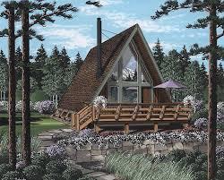 a frame house plans. Contemporary House AFrame Contemporary Retro House Plan 24308 Elevation To A Frame Plans N