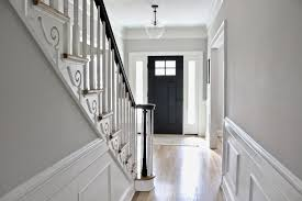 Entryway in 2019   Entryways   Interior door colors, Dark doors ...