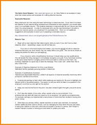 Software Engineer Sample Examples Career Objective For