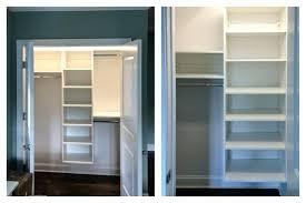 reach in closet sliding doors. Reach In Closet Ideas Small Installed By Ct Shelf  Custom . Sliding Doors N