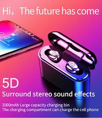 Ultimate <b>TWS</b> True Wireless <b>Earbuds Bluetooth 5.0 Earphones</b> Mini ...
