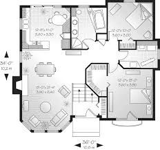 contemporary house plan first floor 032d 0174 house planore