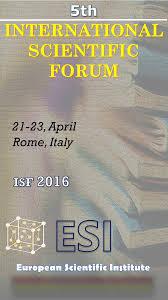 Pdf International Scientific Forum Rome 2016