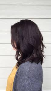 Dimensional Chocolate Brown Long Layered Lob