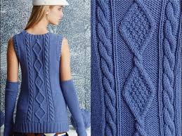 Vogue Knitting Patterns Amazing 48 Cabled Shell With Arm Warmers Vogue Knitting Fall 48 YouTube